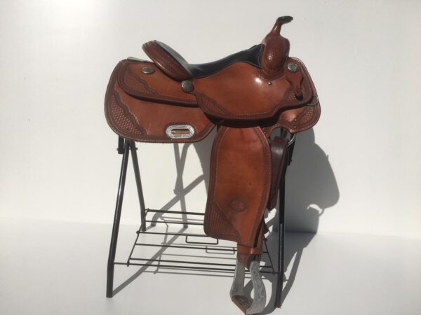 Billy Cook custom Pro Reiner zadel van Ropers Ranch
