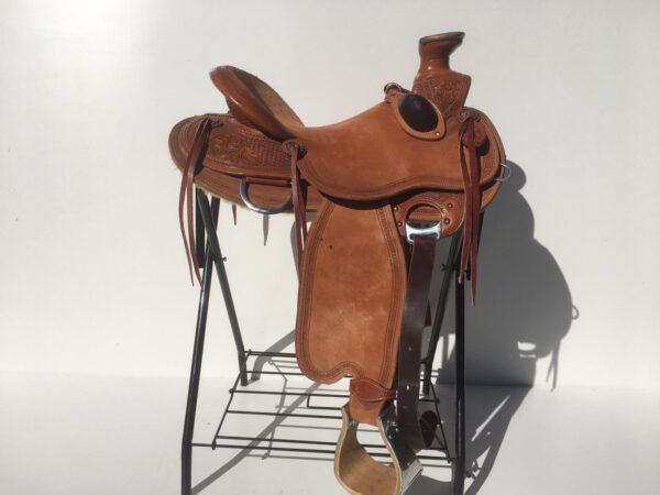 Teskey's wade saddle van Ropers Ranch