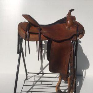 """Continental Equiflex 15,5"""" zadel van Ropers Ranch"""